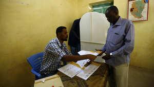 لقطة من مركز اقتراع