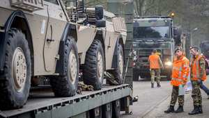 جنود هولنديون في قوات حفظ السلام الدولية في مالي ، مارس/ آذار 2014