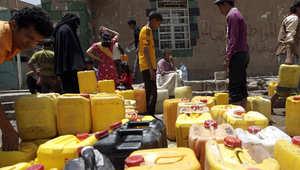 يعاني اليمنيون من شح حاد في امدادات المياه
