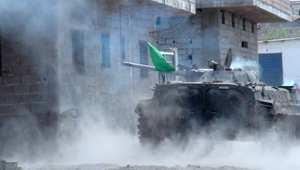 مواجهات بالأسلحة الثقيلة ضد مليشيات الحوثي في مدينة عدن