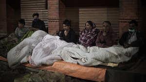 نيبال.. معاناة الناجين من الزلزال
