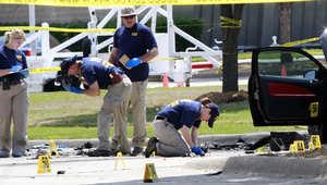 جمع الأدلة من موقع الحادث