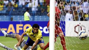 مباراة النصر ولخويا ضمن دوري أبطال آسيا لكرة القدم