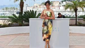 الممثلة الهندية ريشا شادا خلال بروتوكول عرض فيلم ماسان