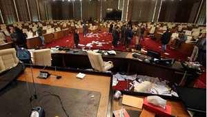 ليبيا: مسلحون يقتحمون مقر المؤتمر الوطني العام وإطلاق رصاص بطرابلس