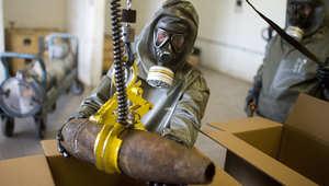 الأمم المتحدة: تدمير الكيماوي السوري لن يتحقق بموعده النهائي بـ30 يونيو