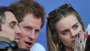 الأمير هاري مع صديقته كريسيدا
