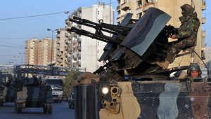 لبنان: إصابة 9 منهم 7 عسكريين بإلقاء قنبلة يدوية على دورية بطرابلس