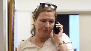 تسيبي ليفني وزيرة العدل الإسرائيلية