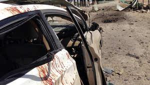 انفجار في الرمادي في 16 أبريل/ نيسان، 2014 راح ضحيته 5 أشخاص