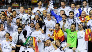 الريال يتجاوز برشلونة ويحرز لقب كأس إسبانيا