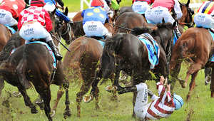 """""""فلاد دوريك""""  في سباق ملبورن للأحصنة في مضمار كولفيلد بملبورن.""""لويس هاميلتون"""" يحتفل بفوزه للمرة الثالثة على التوالي بالجائزة الكبرى في سباق فورمولا الصيني."""