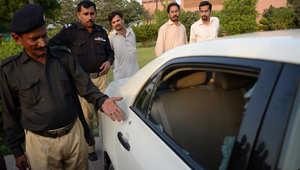 إصابة مذيع يعمل بقناة GEO بعد استهداف سيارته بباكستان