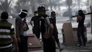 محتجون بحرينيون