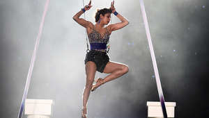الممثلة، بريانكا شوبرا، خلال عرض اليوم الأخير من مهرجان الفيلم الهندي العالمي الخامس عشر في تامبا، فلوريدا.