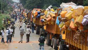 بالصور.. رحيل مسلمي أفريقيا الوسطى من بانغي بعد هجمات مليشيات مسيحية