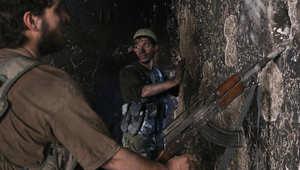 صورة ارشيفية لمقاتل من المعارضة السورية