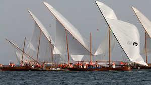 قوارب تراثية بالمهرجان