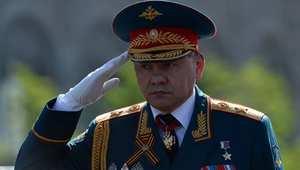 وزير الدفاع الروسي سيرجي شويغو