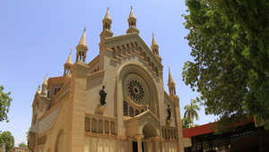 صورة كنيسة في الخرطوم