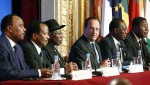 قمة أمنية بباريس: إعلان الحرب على بوكو حرام وخطة عمل فرنسية مشتركة