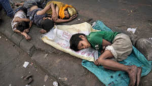 أطفال مشردة في الشوارع