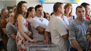 أوكرانيا: انطلاق التصويت لاختيار الرئيس الجديد وتوتر بشرق البلاد