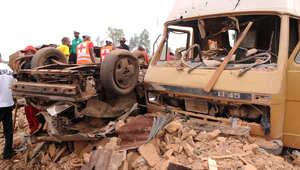 صورة ارشيفية لتفجير سابق