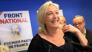 انتخابات البرلمان الأوروبي: حزب الجبهة الوطنية اليميني المعارض للاتحاد يتقدم