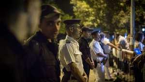 """داعش يتبنى إطلاق النار على دورية شرطة في سيناء.. والداخلية المصرية: """"مجهولون"""" يقتلون 5 من الشرطة"""