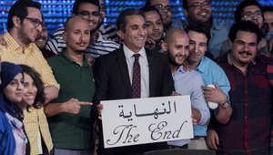 مقدم برنامج البرنامج  المصري باسم يوسف