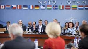 """اجتماع لحلف شمال الأطلسي """"الناتو"""" في بروكسل 3 يونيو/ حزيران 2014"""