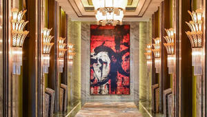 داخل الترف الخيالي لفندق من فئة 7 نجوم بشنغهاي