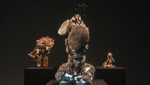 الفنان دايميان هيرست يفتتح معرضه بعنوان