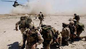 صورة أرشيفية لقوة بريطانية بحرب العراق 2004