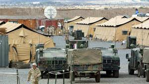 قاعدة معسكر ليمونير، لمشاة البحرية الأمريكية في جيبوتي، ديسمبر 2002