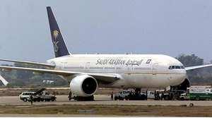 طائرة تابعة للخطوط الجوية السعودية (أرشيف)