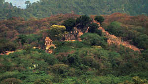 منطقة أثرية في جنوب المكسيك تعد معلما مهما لحضارة المايا التي امتدت حتى كوستاريكا