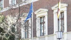 مبنى القنصلية الألمانية في تكسيم بمدينة اسطنبول التركية