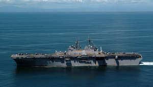 """واشنطن تنصح رعاياها بليبيا مغادرة البلاد """"فورا"""" وسفينة حربية أمريكية بالمتوسط"""