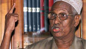 صورة التقطت في 10 أبريل/ نيسان 1999 لأول رئيس لجمهورية جيبوتي حسن جوليد أبيتدون