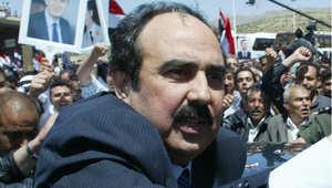 اللواء رستم غزالة رئيس الاستخبارات العسكرية السورية في لبنان حتى عام 2005