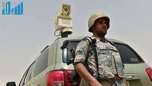 بالصور.. تأهب حرس الحدود السعودي على امتداد شريط نجران الحدودي مع اليمن