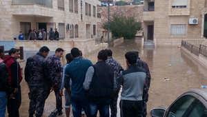 الأمطار والسيول تضرب الأردن.. ووفاة 3 أشخاص بينهم طفلان مصريان