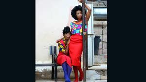 بالصور... شابتان تعيدان تشكيل الأزياء في بوتسوانا