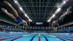 عالم مائي.. لحظات أولمبية فوتتها شاشة التلفاز