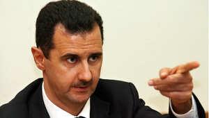 الرئيس السوري بشار الأسد في مؤتمر صحفي بموسكو، أرشيف 19 ديسمبر/ كانون الأول 2006