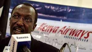 مؤتمر صحفي للمدير التنفيذي للطيران الكيني، مايو/ أيار 2007