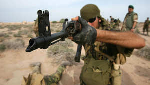 صورة ارشيفية لعنصر من قوات النخبة بالحرس الثوري