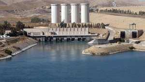 سد الموصل، منظر عام